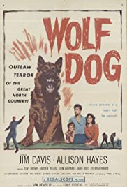 Wolf Dog Poster