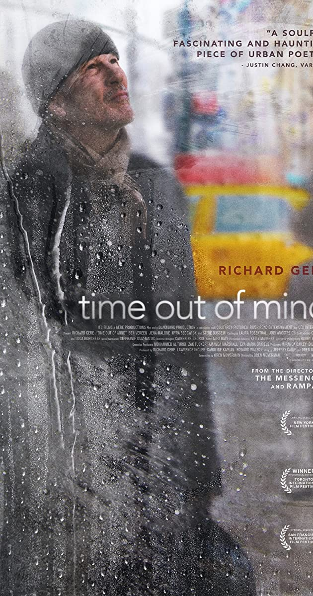 Subtitle of Time Out of Mind