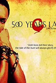 500 Years Later Poster