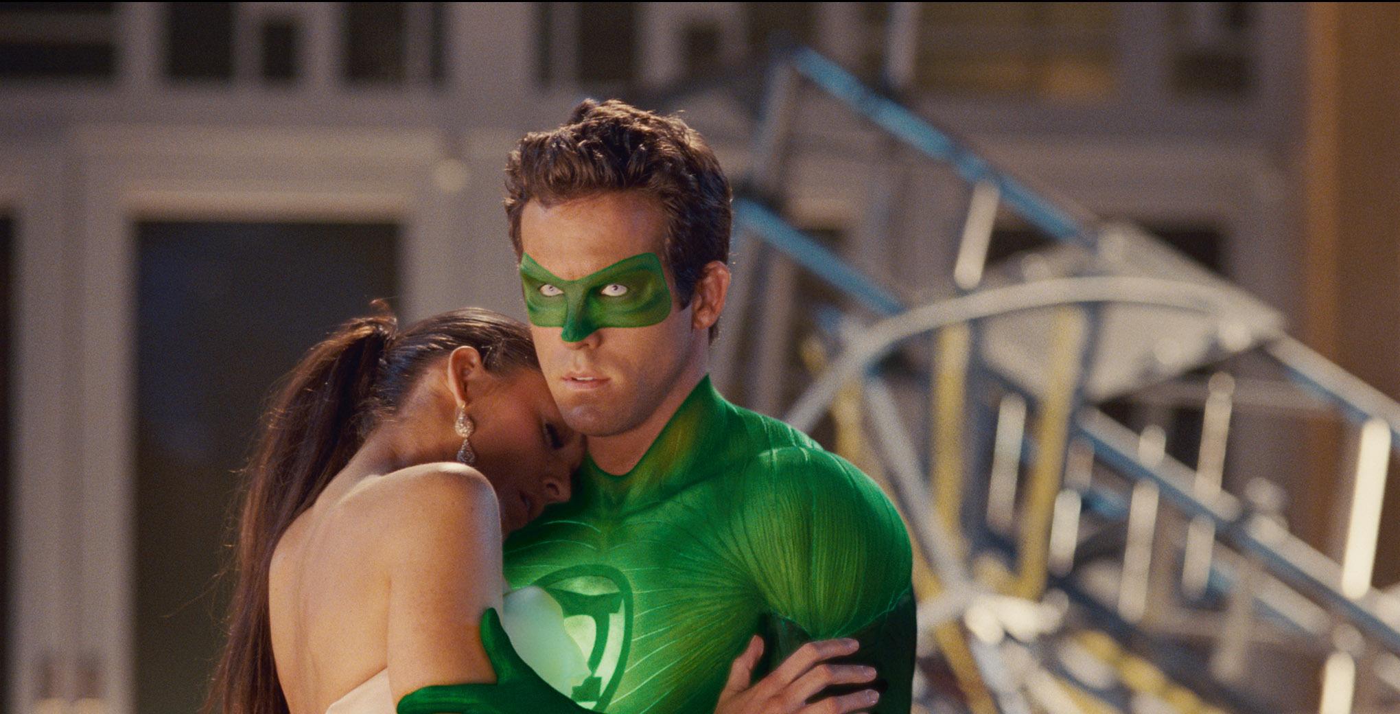 Ryan Reynolds and Blake Lively in Green Lantern (2011)