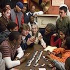 Danny Glover, Mia Farrow, Yasiin Bey, Jack Black, and Melonie Diaz in Be Kind Rewind (2008)