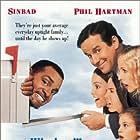 Sinbad and Phil Hartman in Houseguest (1995)
