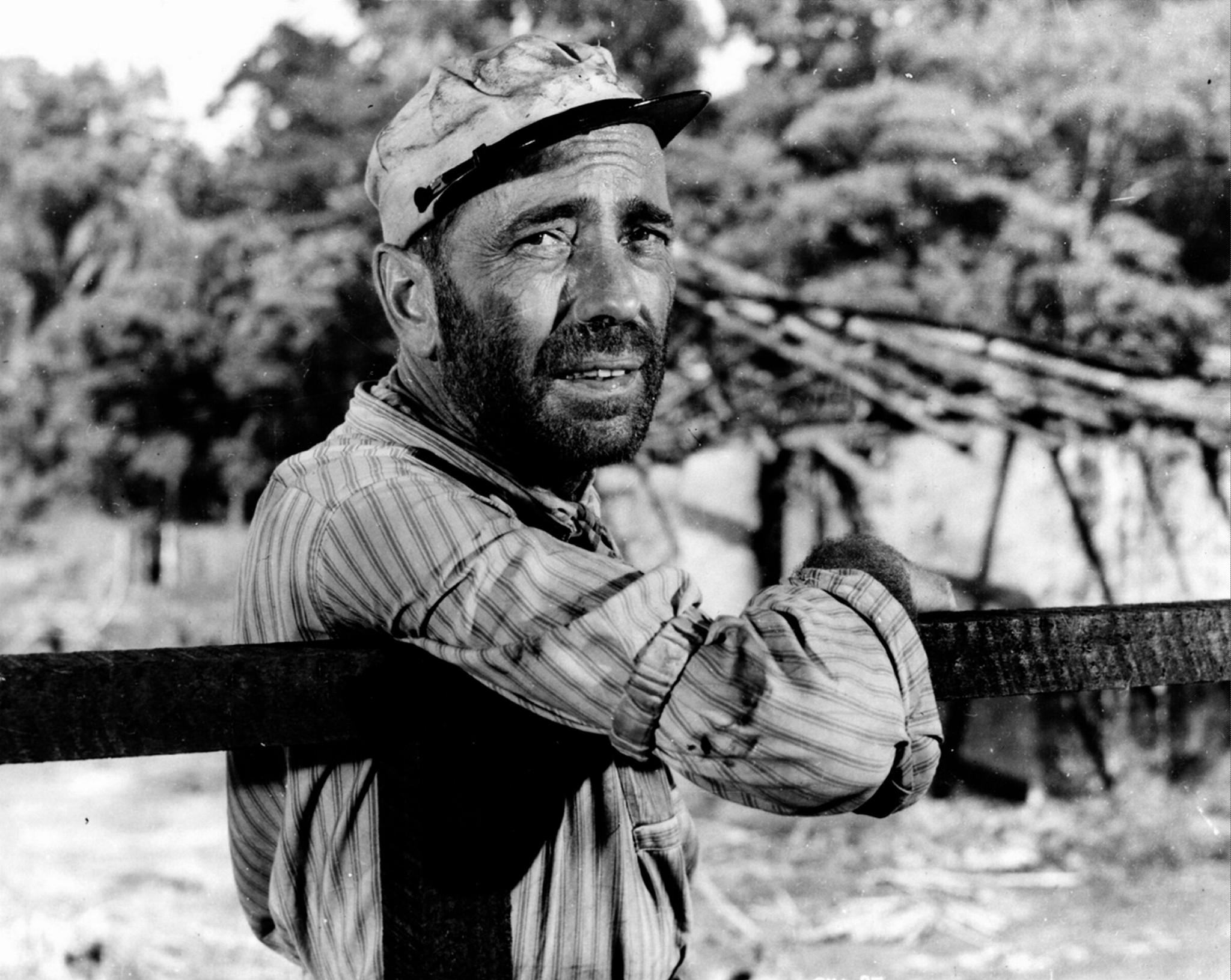 Humphrey Bogart in The African Queen (1951)