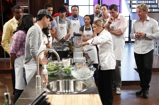 Cat Cora in Masterchef (2010)