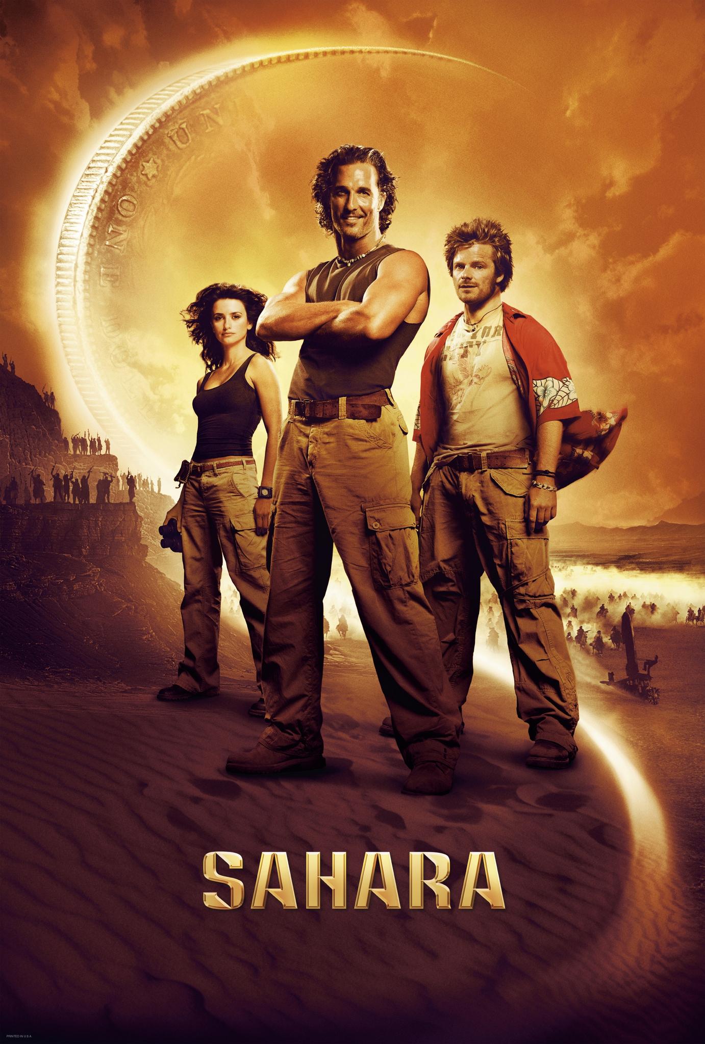 Matthew McConaughey, Steve Zahn, and Penélope Cruz in Sahara (2005)