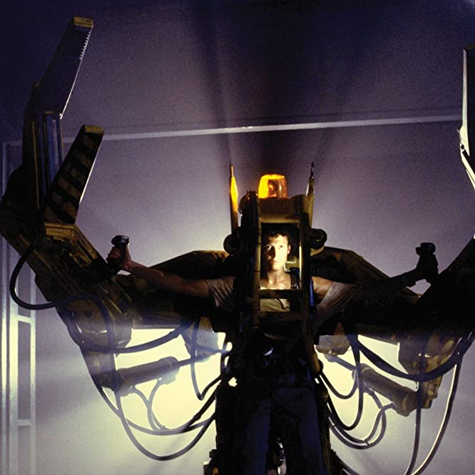 Sigourney Weaver in Aliens (1986)