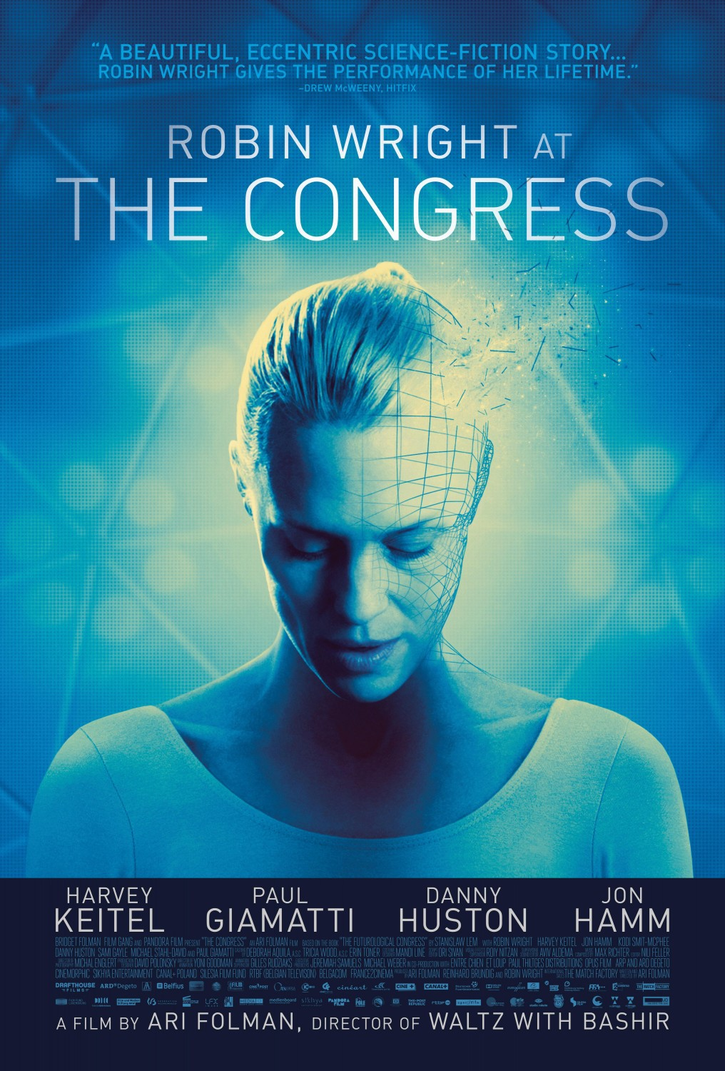 Bildergebnis für The congress movie poster robin wright