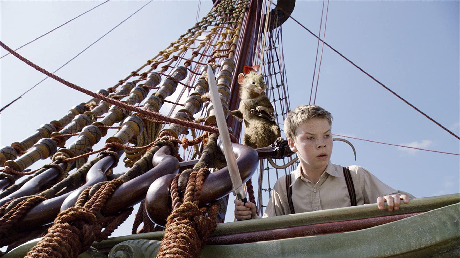 Will Poulter in The Chronicles of Narnia: The Voyage of the Dawn Treader (2010)