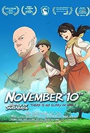 November Tenth Poster