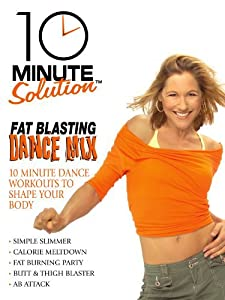 Best free download site for movies 10 Minute Solution: Fat Blasting Dance Mix  [720x400] [hdrip] [4K] by Darren Capik