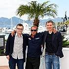 Chad McQueen, Gabriel Clarke, and John McKenna at an event for Steve McQueen: The Man & Le Mans (2015)