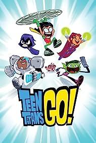 Tara Strong, Scott Menville, Hynden Walch, Greg Cipes, and Khary Payton in Teen Titans Go! (2013)