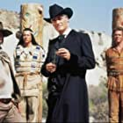 Sky du Mont, Michael Herbig, and Christian Tramitz in Der Schuh des Manitu (2001)