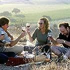 Virginia Madsen, Thomas Haden Church, Paul Giamatti, and Sandra Oh in Sideways (2004)