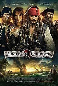 Johnny Depp, Geoffrey Rush, Penélope Cruz, and Ian McShane in Pirates of the Caribbean: On Stranger Tides (2011)