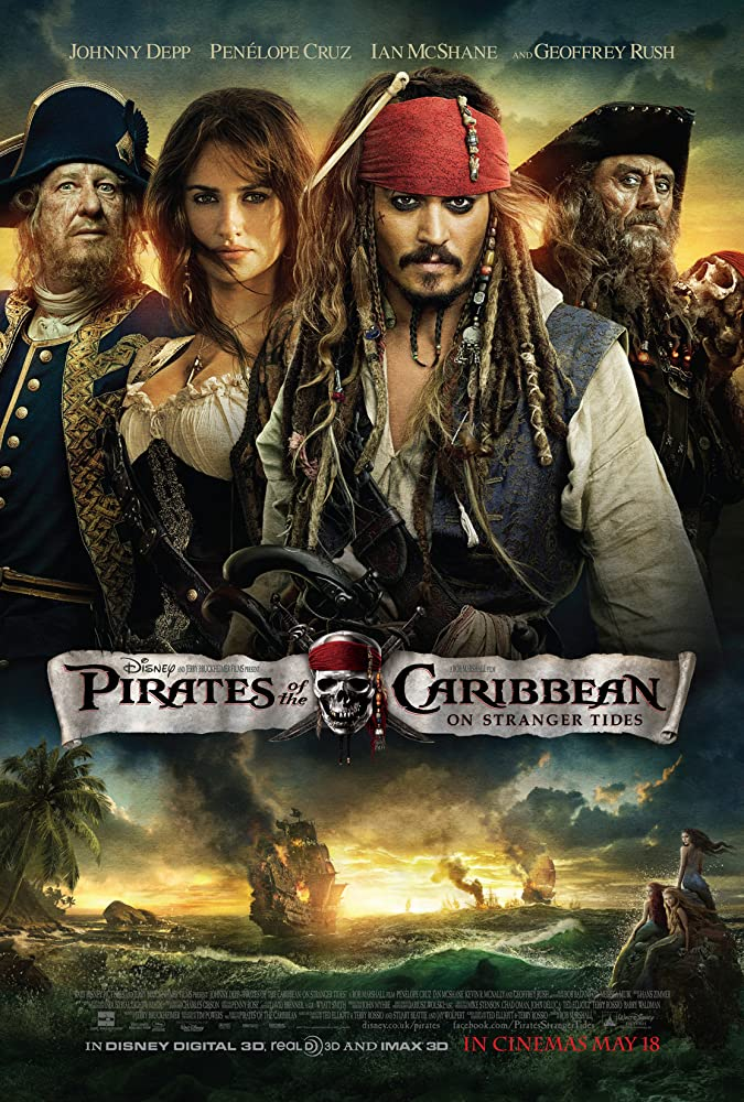 Pirates of the Caribbean 4 – 2011 Movie BluRay Dual Audio Hindi Eng 400mb 480p 1.4GB 720p 5GB 1080p