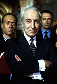 Ian Richardson, Isla Blair, and Nickolas Grace in The Final Cut (1995)