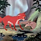 Mickey Rooney and John McIntire in The Fox and the Hound (1981)