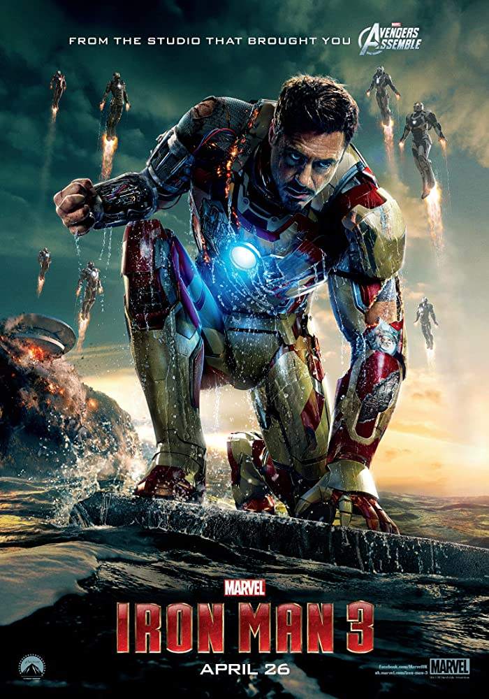 Iron Man 3 (2013) BluRay x264 [1080p-720p] [Hinid DD5.1 + English DD5.1] AAC ESUB