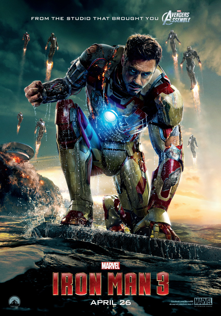 Iron Man 3 (2013) BluRay 480p, 720p, 1080p & 4K-2160p