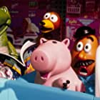 John Ratzenberger, Wallace Shawn, Jim Varney, and Don Rickles in Toy Story 2 (1999)