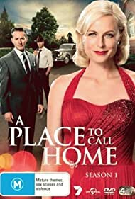 Brett Climo, Marta Dusseldorp, Craig Hall, Noni Hazlehurst, Abby Earl, Arianwen Parkes-Lockwood, and David Berry in A Place to Call Home (2013)