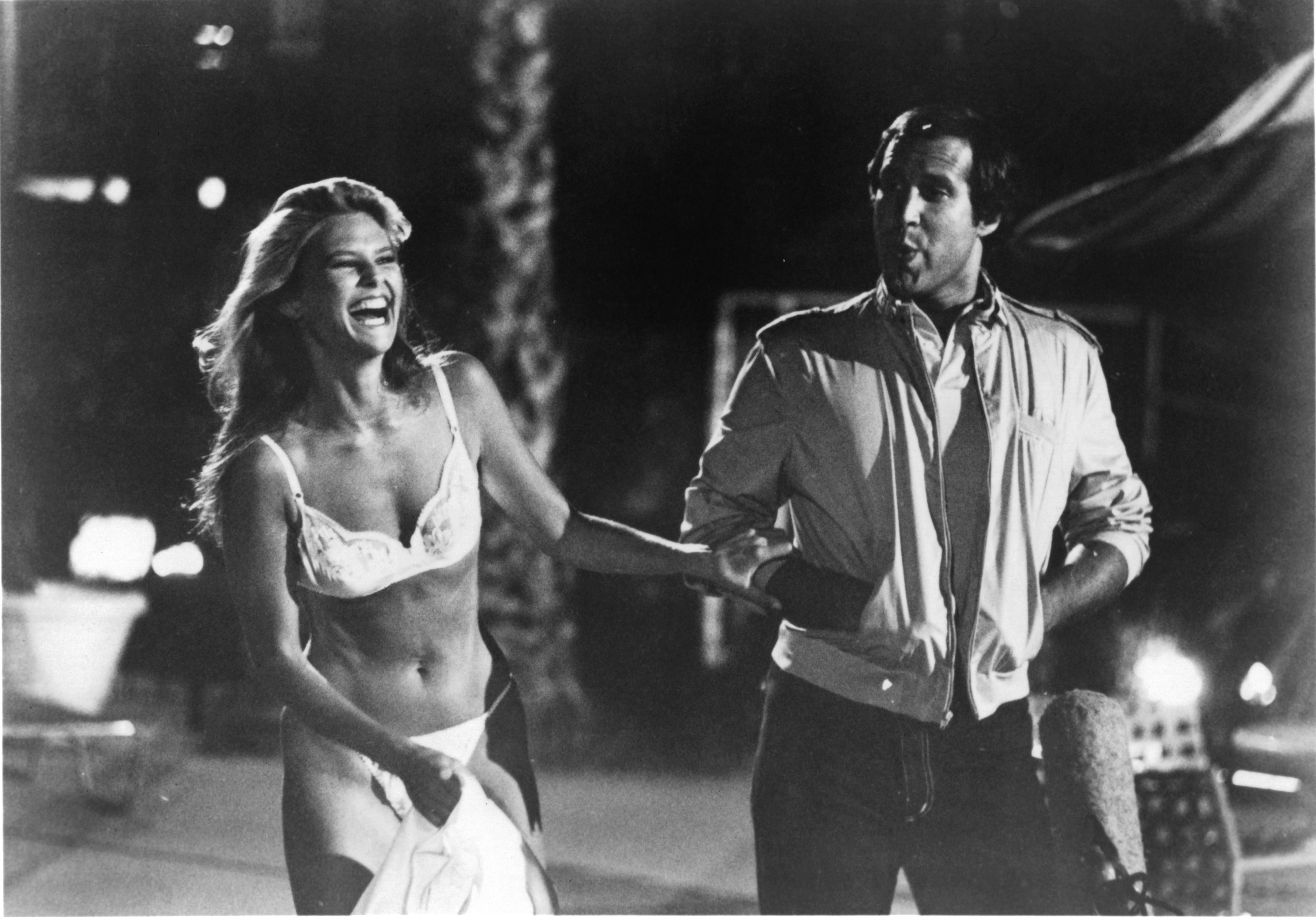 Chevy Chase and Christie Brinkley in National Lampoon's Vacation (1983)