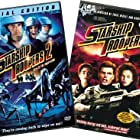 Dina Meyer, Denise Richards, and Casper Van Dien in Starship Troopers (1997)