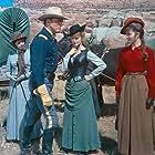 Burt Lancaster, Lee Remick, Helen Kleeb, Hope Summers, and Pamela Tiffin in The Hallelujah Trail (1965)