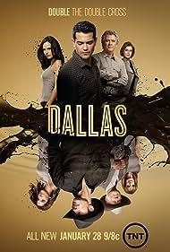 Patrick Duffy, Larry Hagman, Jordana Brewster, Linda Gray, Jesse Metcalfe, Brenda Strong, Julie Gonzalo, and Josh Henderson in Dallas (2012)
