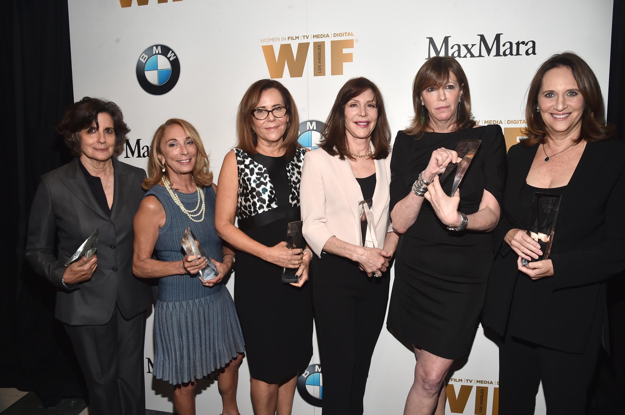 Denise Di Novi, Lucy Fisher, Lianne Halfon, Lynda Obst, Jane Rosenthal, and Lauren Shuler Donner