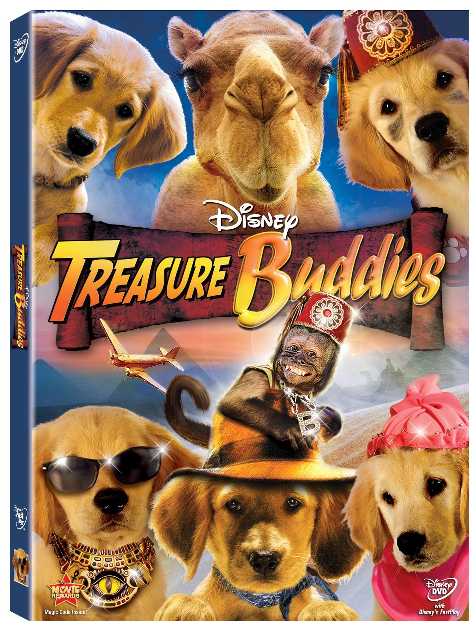 pelicula buddies cazadores de tesoros