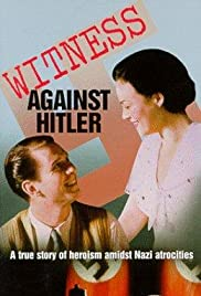Witness Against Hitler Poster