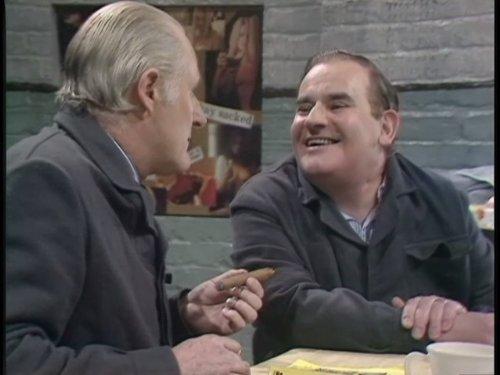 Ronnie Barker and Peter Vaughan in Porridge (1974)