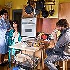 Juliette Lewis, Zach Galifianakis, and Todd Phillips in Due Date (2010)
