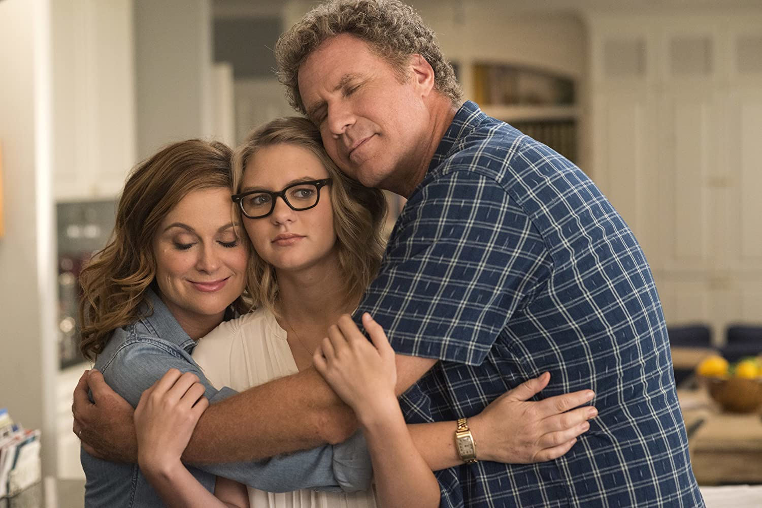 Will Ferrell, Amy Poehler, and Ryan Simpkins in The House (2017)