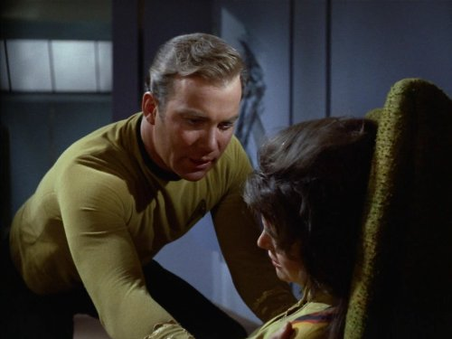 William Shatner and Joan Swift in Star Trek (1966)