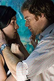 Michael C. Hall and Jaime Murray in Dexter (2006)