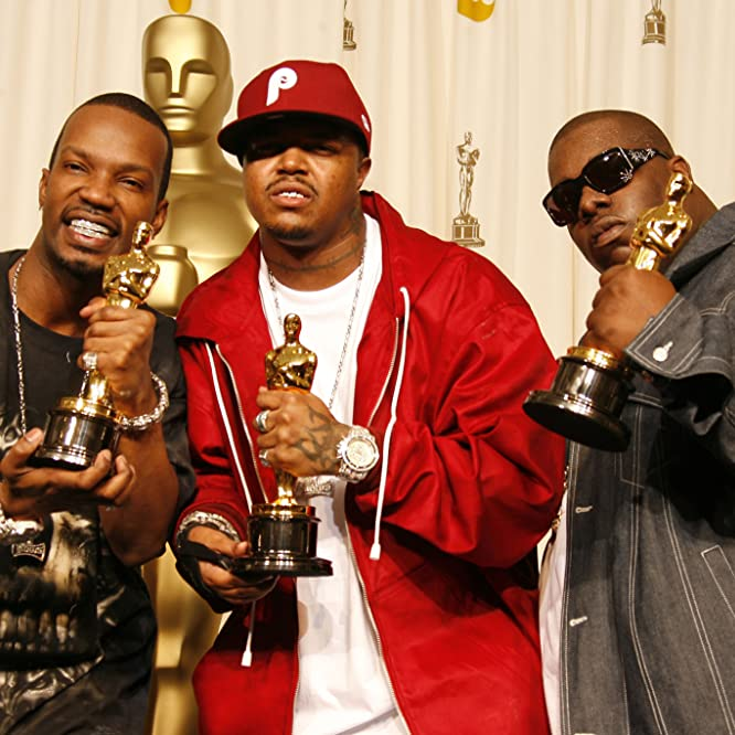 Paul Beauregard, Juicy J, Three 6 Mafia, and Cedric Coleman at an event for The 78th Annual Academy Awards (2006)