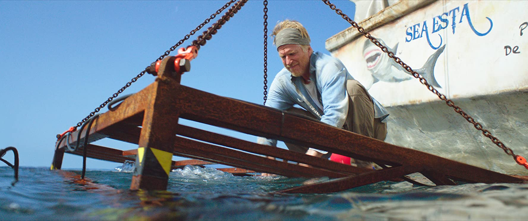 Matthew Modine in 47 Meters Down (2017)