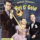James Stewart, Paulette Goddard, and Horace Heidt in Pot o' Gold (1941)
