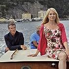 Pierce Brosnan and Trine Dyrholm in Den skaldede frisør (2012)