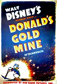 Donald's Gold Mine Poster