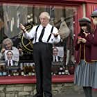 Michael Gambon, Hetty Baynes, Hayley Downing, and Lauren Dowling in The Casual Vacancy (2015)