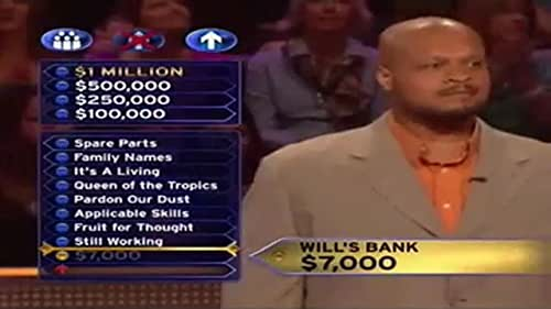"""Watch a clip from """"Who Wants to Be a Millionaire?"""" featuring a question based on IMDb's credits for William Shakespeare."""