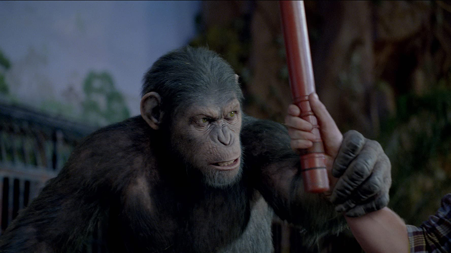 Andy Serkis in Rise of the Planet of the Apes (2011)