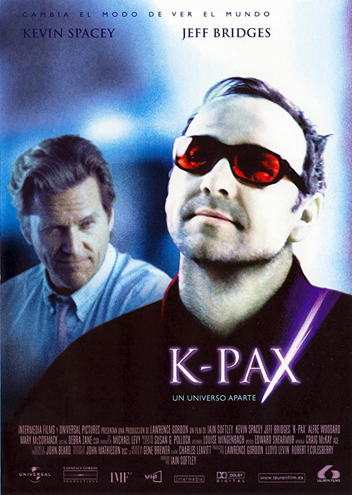 Kevin Spacey and Jeff Bridges in K-PAX (2001)