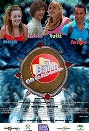 La banda en la isla de la magia Poster