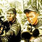 Tom Berenger and Billy Zane in Sniper (1993)
