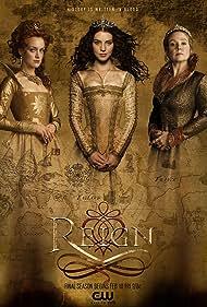 Megan Follows, Rachel Skarsten, and Adelaide Kane in Reign (2013)